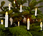 25 LED-Weihnachtsbaumkerzen