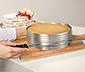 Regulowany rant stalowy do krojenia biszkoptu z nożem cukierniczym