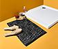 Tapis de bain à motif losanges, env. 45 x 75 cm