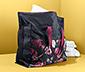 Nagyméretű ágyneműtároló táska, virágos