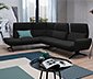 Sitzgruppe »Delano« von ADA AUSTRIA premium, schwarz, links