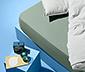 Jerseyfaconlagen, til madrasser på 90 x 190 op til 100 x 200 cm
