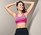 Seamless-Sport-Bustier, pink