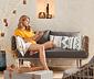 Sofa wypoczynkowa 2-miejscowa z technorattanu