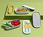 Ételhordó doboz, evőeszközzel, 2x500 ml