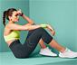 Bezszwowe legginsy sportowe o długości 7/8 z wysokim stanem