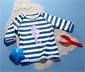 Koszulka chroniąca przed promieniowaniem UV z cekinami