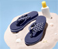 Sandaler med tåsplit