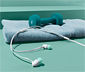 Słuchawki douszne z przyciskiem odbierania połączeń