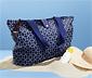 Składana torba plażowa zapinana na zamek błyskawiczny