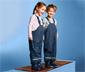 Ciepłe dziecięce spodnie przeciwdeszczowe