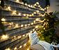 Kültéri LED-es fényháló