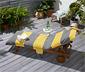 Ręcznik plażowy na leżak 2 w 1 z bocznymi kieszonkami