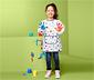Festőkötény gyerekeknek, csillagos, 3-6 év