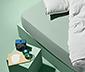 Jerseyfaconlagen, til madrasser fra 90 x 190 op til 100 x 200 cm