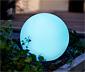 Solar-Kugelleuchte mit Farbwechsel
