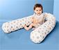 Vankúš v tvare valca na spanie pre deti
