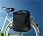 Nieprzemakalna torba rowerowa z odblaskami