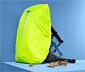Hátizsákvédő huzat eső ellen, neonsárga