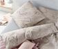 Pościel ze wzmocnionej bawełny we wzór paisley, 135 x 200 cm / 80 x 80 cm