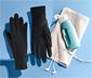 Unisex szélálló kesztyű, fekete