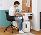 Chaise de bureau avec coque en plastique