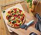 Šamotová doska na pečenie pizze