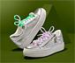 Svietiace šnúrky do topánok s LED