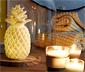 Lampa LED w kształcie ananasa