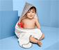 Ręcznik dziecięcy z kapturem w gwiazdki
