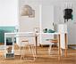 Variabler Tisch mit Stauraummodul
