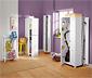 Kihúzható szekrény, fehér