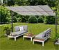 Ogrodowy rozkładany dach przeciwsłoneczny, 350 x 250 cm
