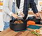 Batterie de cuisine premium multifonction «b.double round» de Berndes©