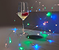 Łańcuch mikroświateł LED ze zmianą koloru