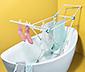Schmaler Wäscheständer