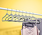 Wąskie wieszaki na ubrania, 8sztuk