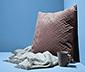 Sametový povlak na dekorační polštářek