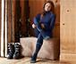 Chaussettes de ski thermiques avec de la laine