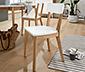 Dřevěné židle, 2 ks