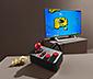 Retro-TV-Spielekonsole