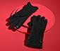 Handskar i boucléutförande
