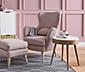 Fotel, rózsaszín