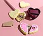 Emporte-pièce en forme de cœur pour biscuits chinois