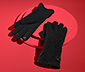 Handsker i bouclélook