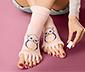 Oje Sürme Çorabı