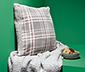 Obojstranná obliečka na dekoračný vankúš