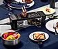 Raclette gril pre dvoch