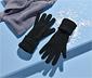 Rękawice damskie z mikropolaru