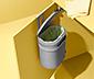 Ajtóra akasztható hulladékgyűjtő
